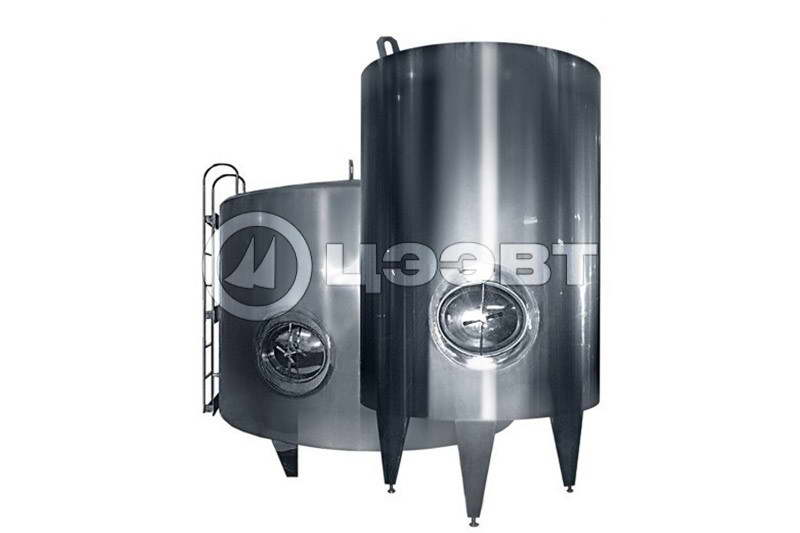 Емкости из нержавеющей стали  для молока. Рис. 3